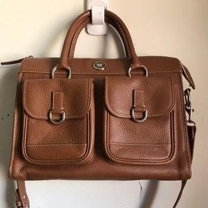 Dooney & Bourke Large Leather Tote Crossbody Bag